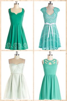 Modcloth~ Really digging this color 485b44467701