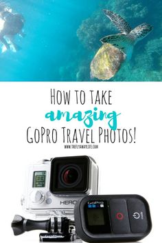 These GoPro tips will help you take amazing GoPro photos on your next vacation! This guide has all the GoPro mounts and accessories you need to become a pro GoPro photographer!