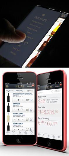 Oeno Vaults App by Vasile Tiplea