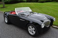 Learn more about More Power: 1955 Austin Healey 100 Custom on Bring a Trailer, the home of the best vintage and classic cars online. Sports Car List, New Sports Cars, British Sports Cars, Sport Cars, Ferrari, Lamborghini Aventador, Peugeot, Convertible, Benz
