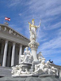 Parliament Building, Vienna, Austria
