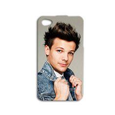 Louis Tomlinson Phone Case Cute iPhone Case One Direction iPod Case 1 D Cover iPhone 4 iPhone 5 iPhone 5s iPhone 4s iPod 4 Case iPod 5 Case