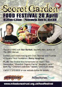 OSO Natural Fuel hit the Secret Garden Food Festival in Bristol on April 20th!