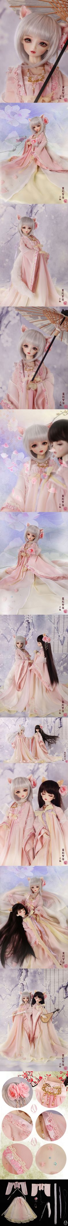 Bjd Clothes Girls 1/4 girl ancient Chinese clothing /mandara CL4150916 for MSD Ball-jointed Doll_MSD_MSD_CLOTHING_Ball Jointed Dolls (BJD) company-Legenddoll