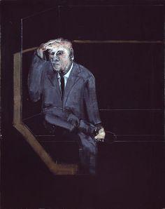 Francis Bacon, Self-Portrait. Hirshhorn Museum and Sculpture Garden, Washington D.C.