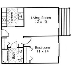 Convert Garage To Apartment Plans | Plans U0026 Rates For Glen Forest Senior  Apartment Community