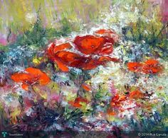 The poppies #Creative #Art #Painting @Touchtalent.com