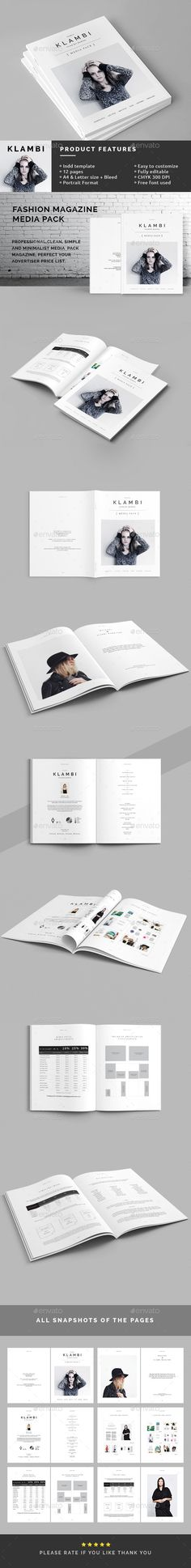 Fashion Magazine Media Pack #advertisement #ad Download : https://graphicriver.net/item/fashion-magazine-media-pack/12042844?ref=pxcr