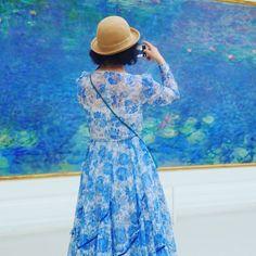"""4,373 Me gusta, 29 comentarios - Musée de l'Orangerie (@museeorangerie) en Instagram: """"Merci @stefandraschan pour ce cliché ! #Monet #Nympheas #Waterlilies #Fleurs #Flowers #Paris…"""""""