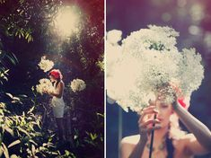 Thumbelina inspiration shoot-love that photo on the left in the woods