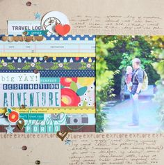 paper: pretty paper. true stories. {and scrapbooking classes with cupcakes.}: An Adventurous Colour Story