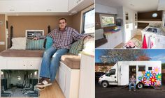 Father has turned jail van into luxury motorhome