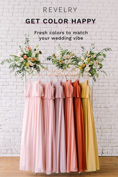 Choose from hundreds of colors, fabrics and styles to match your wedding vibe. Spring Wedding, Our Wedding, Dream Wedding, Wedding Bridesmaid Dresses, Wedding Gowns, Bridesmaid Separates, Do It Yourself Wedding, Wedding Colors, Wedding Inspiration