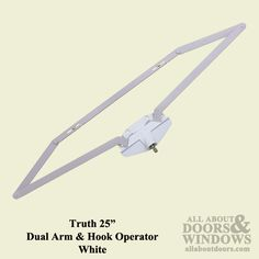 Roto Operator, Roto crank, 25 inch Dual Arm, Scissor Type - for Casement/Awning crank windows - available at Abstract Glass Crank Windows, Arm, Type, Abstract, Glass, Products, Arms, Summary, Drinkware