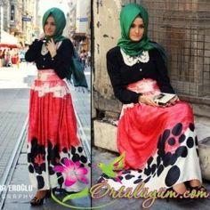 Tesettürlü Hanımlara Özel Tasarım Kıyafetler