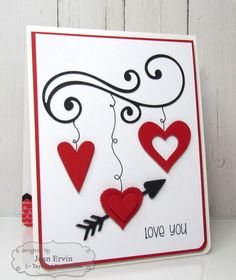 CTD324 Love You by joan ervin - Cards and Paper Crafts at Splitcoaststampers