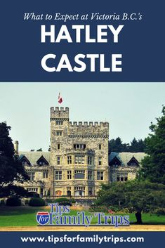 Tips for visiting Hatley Castle in Victoria, British Columbia. This is a fun destination for families who love history! The home and park are so beautiful. #travel #vacationideas #Canada #BritishColumbia #Victoria #tipsforfamilytrips #summer