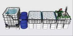 Guide pas à pas dans la construction d'une unite aquaponique classique NFT et… #BestAquaponicsTips