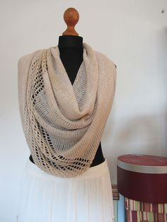Free Pattern: -dimoni-'s golden wheat cowl. follow 'About this Pattern' on right for link to Jeweled Cowl pattern.