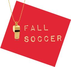 Fall Soccer In The Classic City! Whistle necklace by Karmaloop.com #whereislumpkin #soccer.