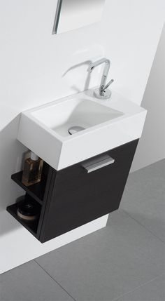 Small sink for each room - must be 'hands free' function