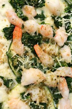 Spinach and Shrimp Pizza Recipe