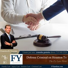 #Defensa #Criminal de #Houston TX ¡Contáctanos! 📞 (713) 545-2520  THE FY LAW FIRM, P.C.  Menciona que viste el anuncio en internet.  📌112 W 4th St Houston TX 77007
