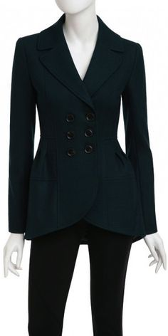 Nanette Lepore Squire Jacket in Evergreen