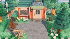 Animal Crossing 3ds, Animal Crossing Wild World, Animal Crossing Qr Codes Clothes, Animal Games, My Animal, Ac New Leaf, Motifs Animal, Path Design, Design Ideas
