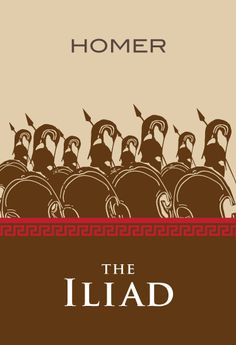 Iliad, set during the end of the Trojan war, the ten year siege on the city of Troy, that was led by many Greek city states. One of the oldest works of Western literature.