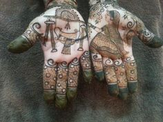 Baby Mehndi Design, Peacock Mehndi Designs, Bridal Henna Designs, Mehndi Design Pictures, Latest Mehndi Designs, Mehndi Images, Mehandi Henna, Mehndi Tattoo, Mehndi Art