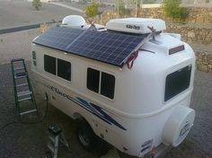 Are you using solar energy on your RV or Camper yet? There's great benefits in using solar energy when you're out on a road trip or camping, click for a great list...