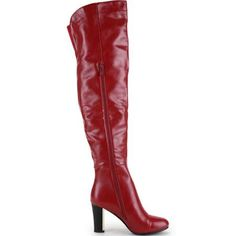 Ann Creek Women's 'Mona' Gold Plated Heels Boot - Overstock™ Shopping - Great Deals on Ann Creek Boots Red Leather Boots, Red Boots, Lace Up Boots, Red Fashion, Fashion Boots, Scarlet Witch Costume, Toe Shape, Shoes Online, Fashion Forward