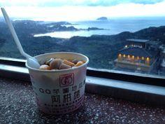 基隆阿柑姨芋圓 Taiwan Travel, Waterfall, Mountain, Tableware, Nature, Dinnerware, Naturaleza, Tablewares, Waterfalls