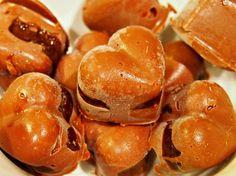 Sjokoladehjerter med salt lakrisfyll; sukkerfri - Fitfocuse