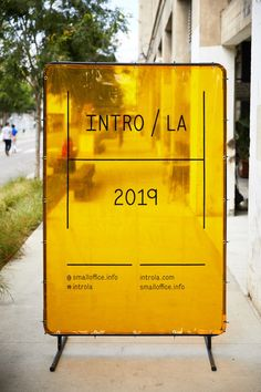 A Look at the INTRO / LA 2019 Exhibition - Design Milk