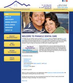 #sesamewebdesign #sds #pacific #dental #responsive #blue #yellow #sans