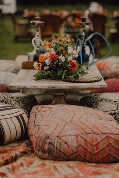 10 Ways to Create a Cozy Wedding Reception Colorful boho lounge area with cozy floor seating Cozy Wedding, Wedding Lounge, Dream Wedding, Summer Wedding, Bush Wedding, Wedding Reception On A Budget, Wedding Planning, Reception Seating, Bohemian Wedding Reception