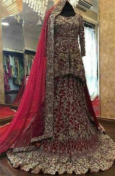 We aspire to create a platform that gives our customers a memorable shopping experience. Custom made and Worldwide shipping Available . Asian Bridal Dresses, Bridal Mehndi Dresses, Asian Wedding Dress, Pakistani Wedding Outfits, Indian Bridal Outfits, Indian Bridal Wear, Pakistani Wedding Dresses, Bridal Sarees, Designer Bridal Lehenga