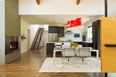 Warm Contemporary Interior Design by GS Architects, USA | http://www.designrulz.com/design/2015/10/warm-contemporary-interior-design-by-gs-architects-usa/