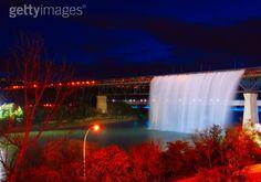 Great Divide Waterfall - Edmonton