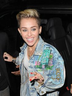 smiling cyrus Eiza Gonzalez vs. Miley Cyrus: Who Would You Rather?