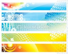 Web Banner — Stock Illustration #6283367