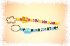 Schlüsselanhänger #Schmetterling #Auto #blau #rosa #gelb #Blume