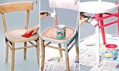 Risultati immagini per fai da te sedie