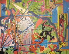 """Saatchi Art Artist zach zecha; Painting, """"when young bucks lose innocene as if from cat litter"""" #art"""