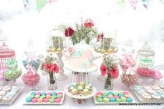 Candy Buffet Tables | The Floral High Tea Party ideas and elements that I adore most from ...