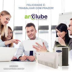 Nada como trabalhar em um clima agradável! Venha para o nosso clube! www.arclube.com.br