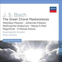 Staatskapelle Dresden - Collectors Edition: J.S. Bach- Great Choral Masterpieces
