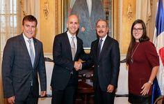 Danilo Medina recibe Subsecretario de Estado de EEUU; destaca liderazgo de RD
